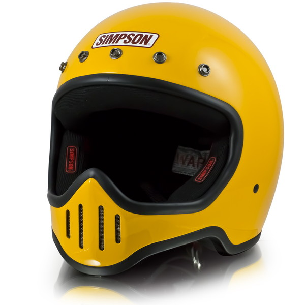 シンプソン M50 【イエロー 59-60cm】 MODEL 50 フルフェイスヘルメット