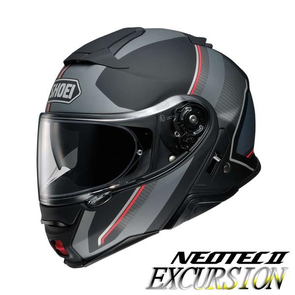 ショウエイ NEOTEC2 EXCURSION 【TC-5(SILVER/BLACK) Mサイズ】 ネオテック2 エクスカーション システムヘルメット