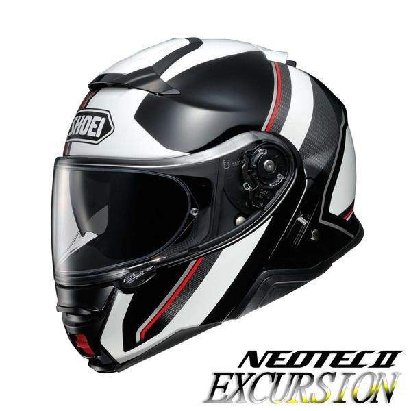ショウエイ NEOTEC2 EXCURSION 【TC-6(WHITE/BLACK) XLサイズ】 ネオテック2 エクスカーション システムヘルメット