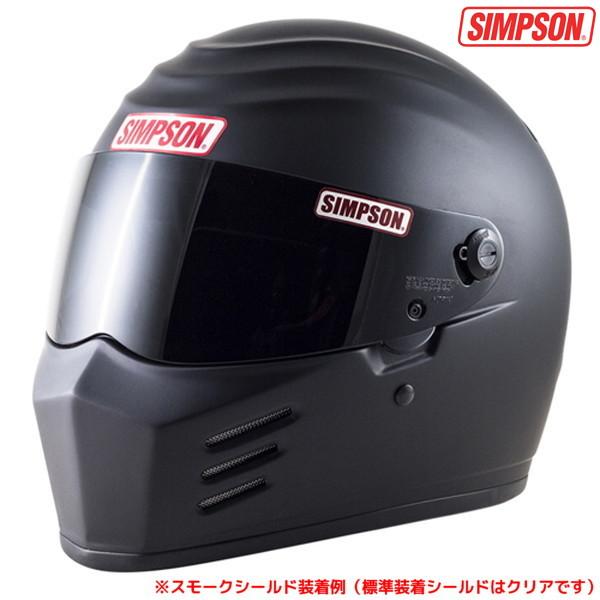 シンプソン OUTLAW 【マットブラック 59cm】 フルフェイスヘルメット