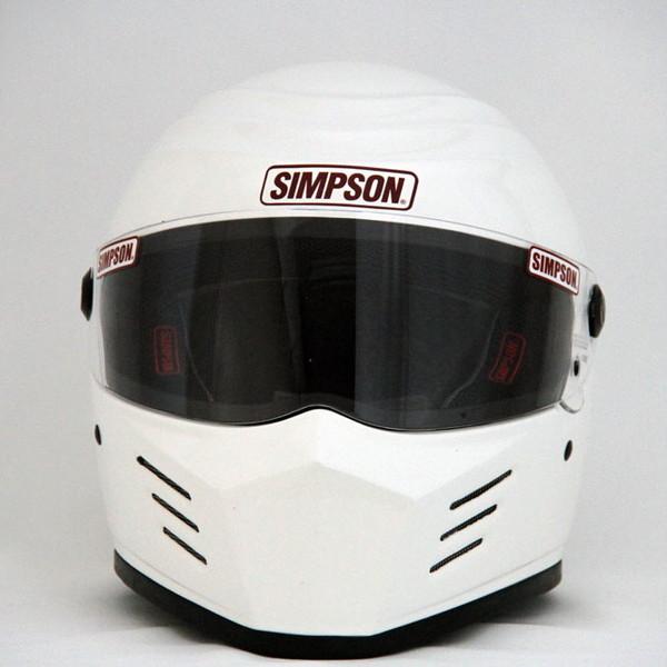 【送料無料】 シンプソン OUTLAW 【ホワイト 61cm】 アウトロー フルフェイスヘルメット