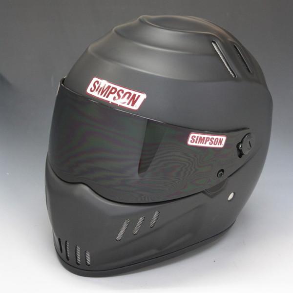 シンプソン RX12 【マットブラック 59cm】 フルフェイスヘルメット
