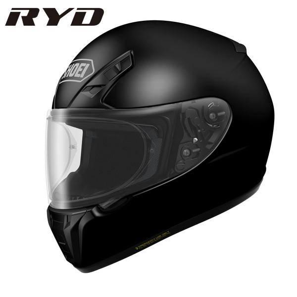 ショウエイ RYD 【ブラック Sサイズ】 フルフェイスヘルメット