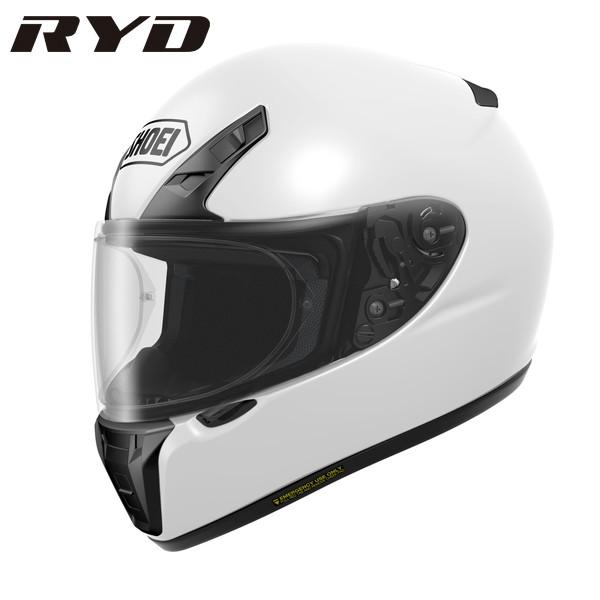 ショウエイ RYD 【ホワイト Lサイズ】 フルフェイスヘルメット