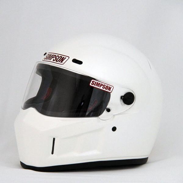 シンプソン SUPER BANDIT 13 【ホワイト 59cm】 SB13 スーパーバンディット フルフェイスヘルメット