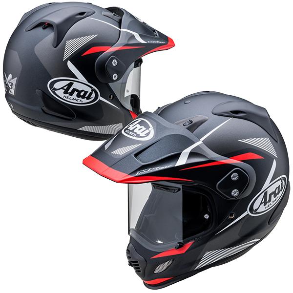 アライ×山城 TOUR CROSS3 BREAK 【レッド Lサイズ】 TX3 ツアークロス3 ブレイク オフロードヘルメット