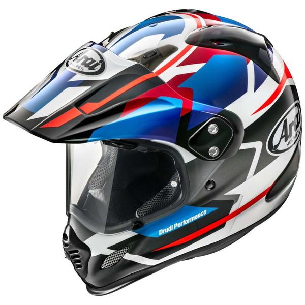 アライ TOUR-CROSS 3 DEPARTURE 【青 Mサイズ】 デパーチャー オフロードヘルメット