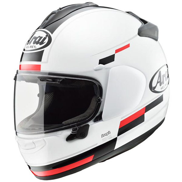 アライ×東単 VECTOR-X BLAZE 【白/黒 : XL サイズ】 フルフェイスヘルメット ベクターX ブレイズ