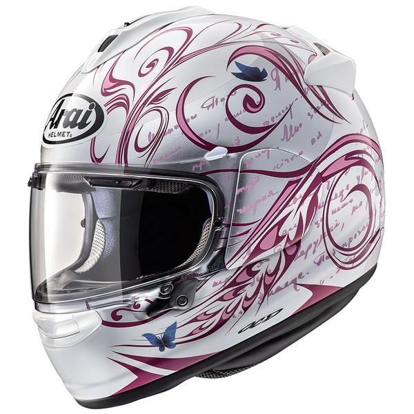 アライ VECTOR-X STYLE 【ピンク Mサイズ】 スタイル フルフェイスヘルメット
