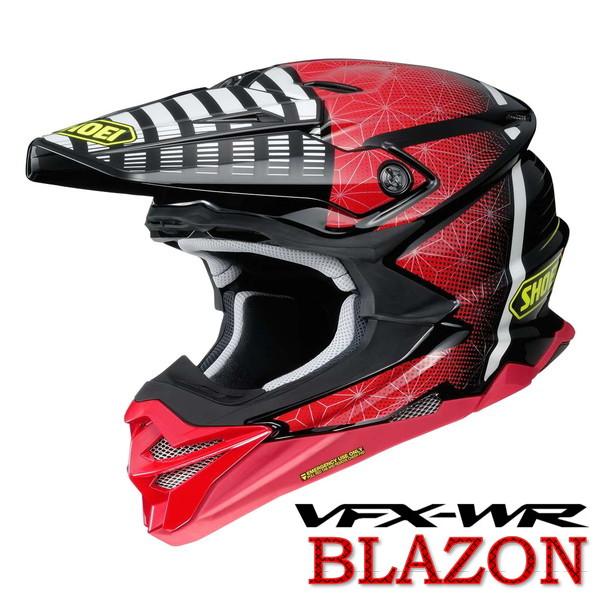 ショウエイ VFX-WR BLAZON 【TC-1(RED/BLACK) Sサイズ】 ブラゾン オフロードヘルメット