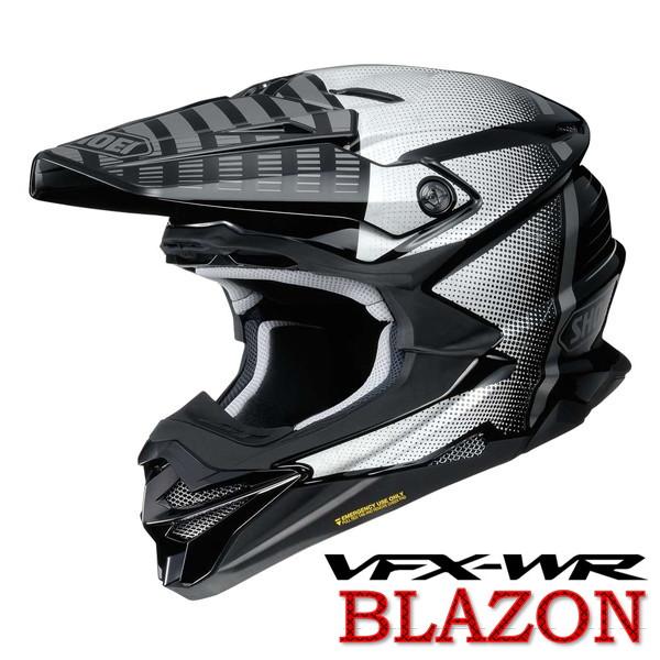 ショウエイ VFX-WR BLAZON 【TC-5(GREY/BLACK) Sサイズ】 ブラゾン オフロードヘルメット