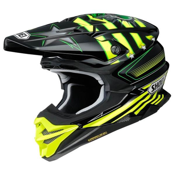 ショウエイ VFX-WR GRANT3 【TC-3(YELLOW/BLACK) XLサイズ】 グラント3 オフロードヘルメット