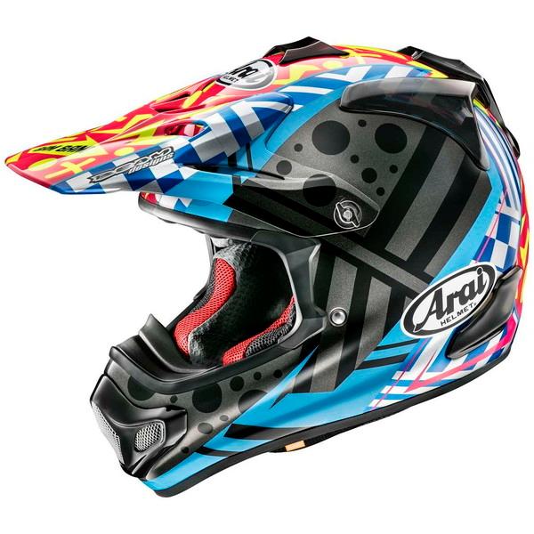 アライ V-CROSS4 バーシア・2 【XLサイズ】 オフロードヘルメット BARCIA 2