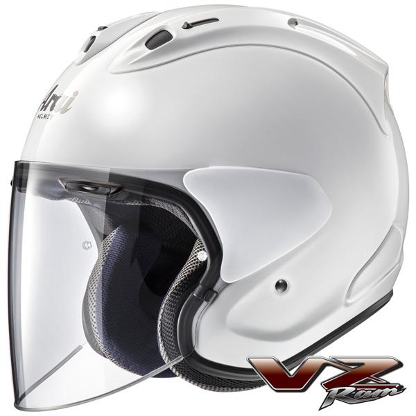 アライ VZ-Ram(VZ ラム) 【グラスホワイト Lサイズ】 ジェットヘルメット