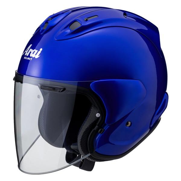 アライ×山城 VZ-Ram 【ビビッドブルー Sサイズ】 ジェットヘルメット