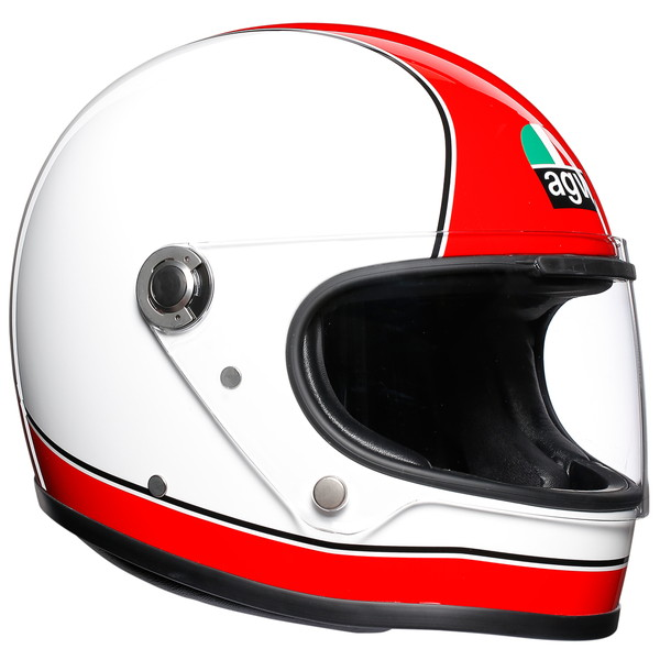 AGV LEGENDS X3000 (SUPER AGV RED/WHITE) 【XL(61-62cm)サイズ】 フルフェイスヘルメット