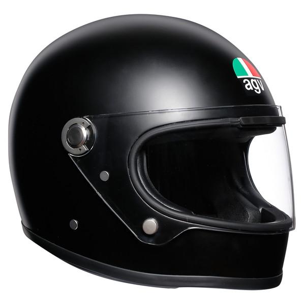 AGV LEGENDS X3000 (MATT BLACK) 【M(57-58cm)サイズ】 フルフェイスヘルメット 【SG規格/日本国内正規代理店品】