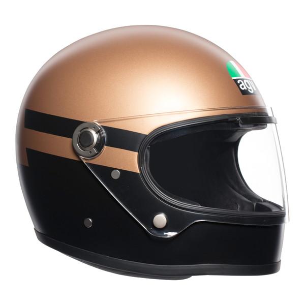 AGV LEGENDS X3000 【SUPERBA ゴールド/黒 XLサイズ】 フルフェイスヘルメット
