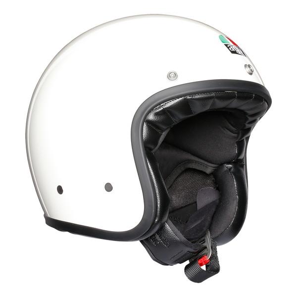 【売り切り御免!】 AGV LEGENDS X70 【WHITE Mサイズ】 スモールジェットヘルメット, 日本防災センター 4407c0f9