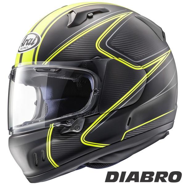 アライ XD DIABLO フルフェイスヘルメット 【ディアブロ・黄 L(59-60cm)サイズ】