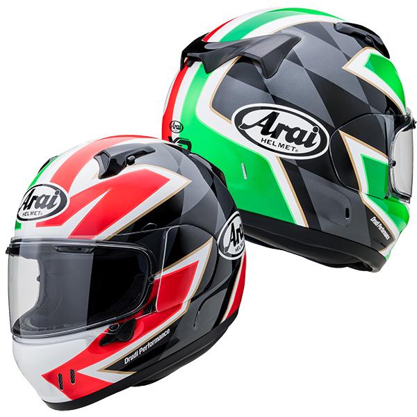 アライ×山城 XD FLAG ITALY 【Mサイズ】 フルフェイスヘルメット