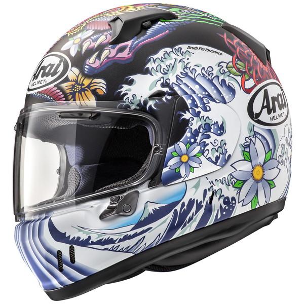 アライ XD ORIENTAL(オリエンタル) 【黒(つや消し) Lサイズ】フルフェイスヘルメット