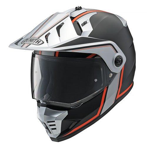 ヤマハ YX-6 ZENITH Graphic 【GF-01 オレンジ/Mサイズ】 ゼニス オフロードヘルメット 90791-1780M