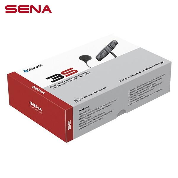SENA(セナ) 3S バイク用インターコム ケーブル型マイクキット(シングルパック) SENA 3S-W 041001CC 日本国内正規代理店品
