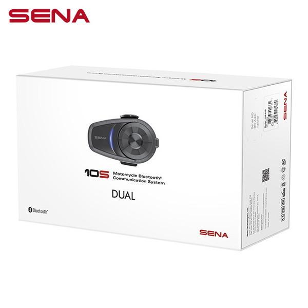 SENA(セナ) 10S デュアルパック(2台セット) バイク用ステレオヘッドセット・Bluetoothインターコム 0410001UD SMH10S 日本国内正規代理店品