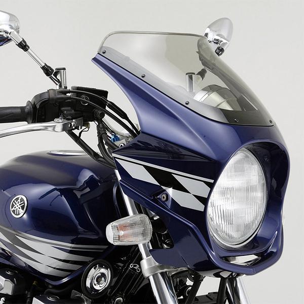 デイトナ AR Breaker ビキニカウル 塗装済み XJR1300('07)用 ダークパープリッシュブルーメタリックL(0865)(70076)