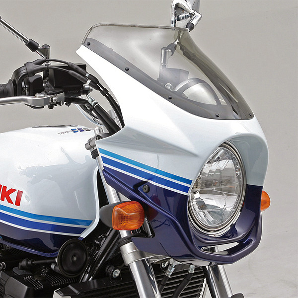 デイトナ AR Breaker ビキニカウル 塗装済み GSX1400('01)用 パールスズキディープブルーNo.2(LR5)/グラススプラッシュホワイト(71953)