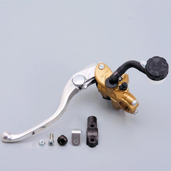 NISSIN ラジアルクラッチマスター φ19(横型14mm相当) ゴールドボディー/バフクリアーレバー 64208 デイトナ