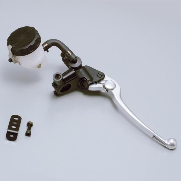 NISSIN ブレーキマスターシリンダーキット 横型/タンク別体式 11mm ブラックボディ/シルバーレバー 78593 デイトナ