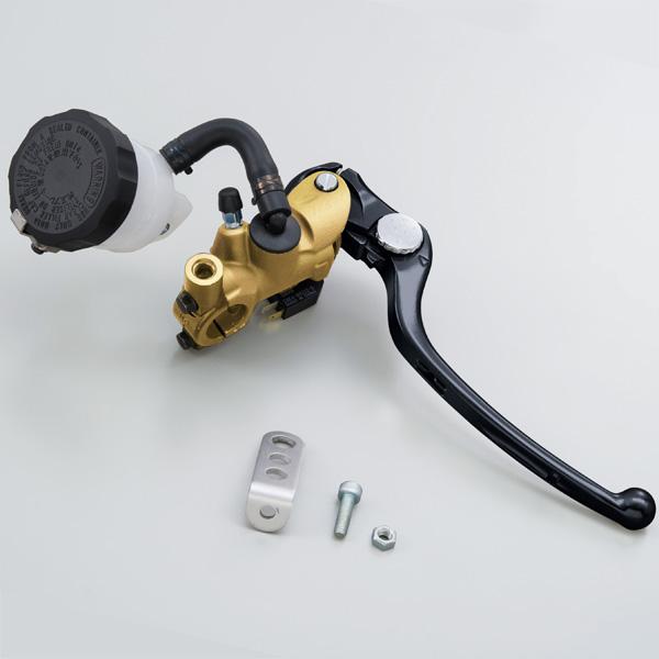 NISSIN ラジアルブレーキマスターシリンダー φ19(横型5/8インチ相当) ゴールドボディ/ブラックレバー 79885 デイトナ