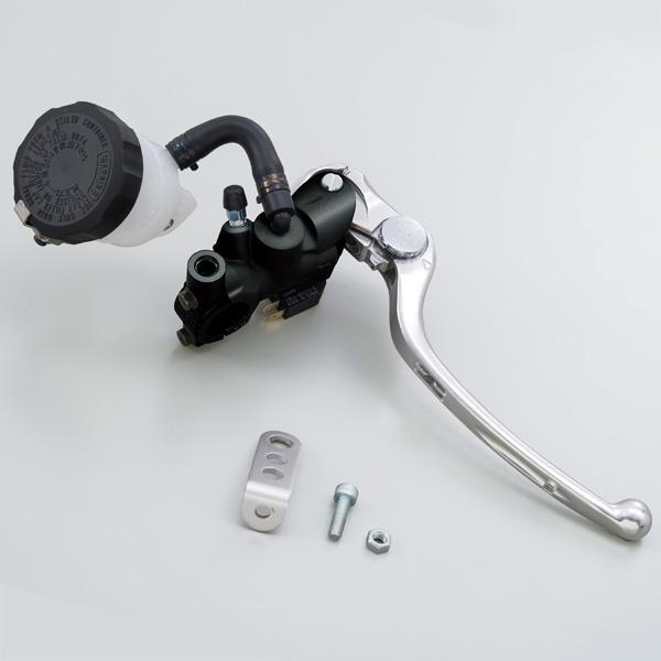 NISSIN ラジアルブレーキマスターシリンダー φ17(横型14mm相当) ブラックボディ/シルバーレバー 79886 デイトナ