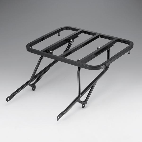 キジマ ツーリングキャリア 角パイプ式 ハーレー スポーツスター(04~13) ブラック HD-08199