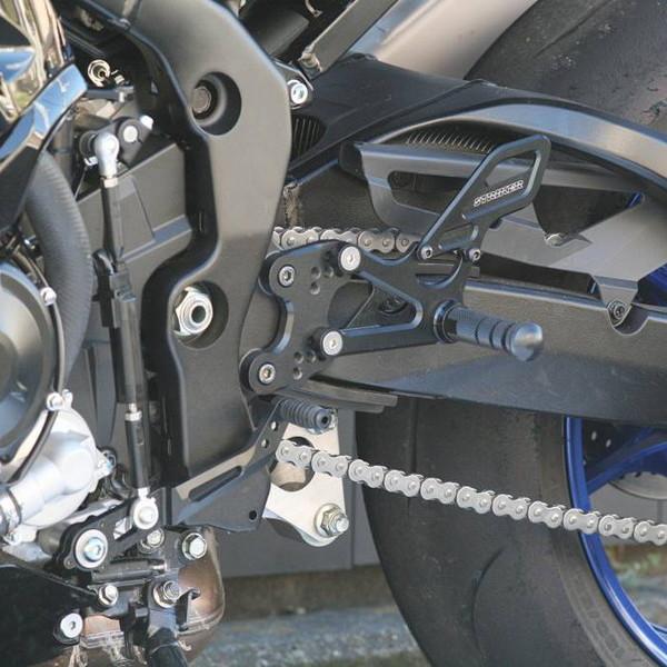ストライカー スペシャルステップキット 6ポジション 17~ GSX-R1000/R ABS バックステップKIT SS-AA2138B