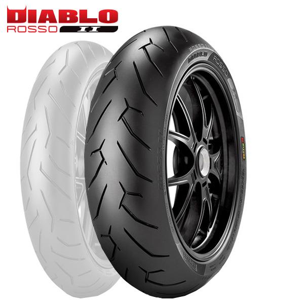 ピレリ DIABLO ROSSO2 240/45ZR17(82W) オートバイ用 ラジアル リアタイヤ