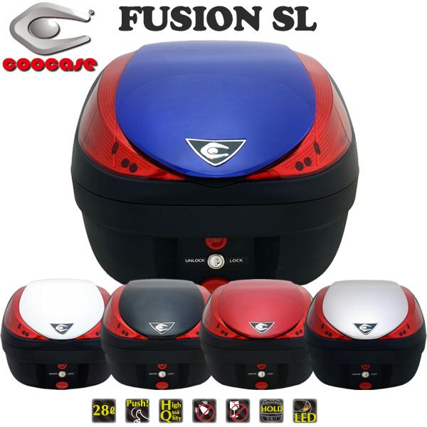クーケース V28 FUSION SL (フュージョン エスエル) テールボックス 28L ペイントモデル