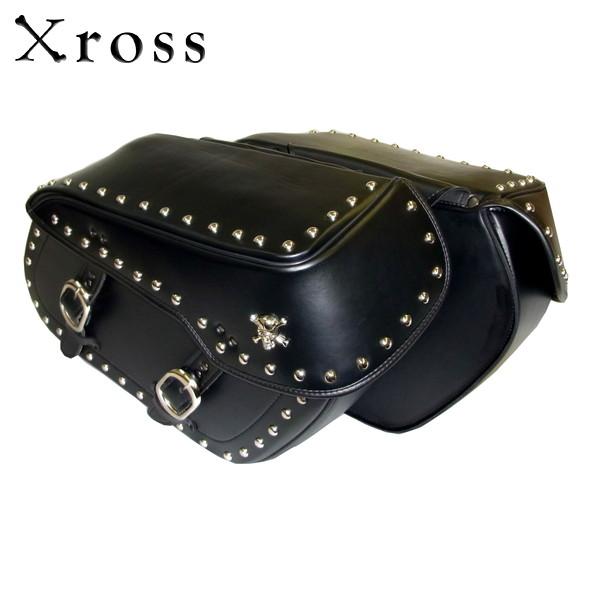 Xross(クロス) ラージダブル サイドバッグ LARGE DOUBLE BS-001-1S