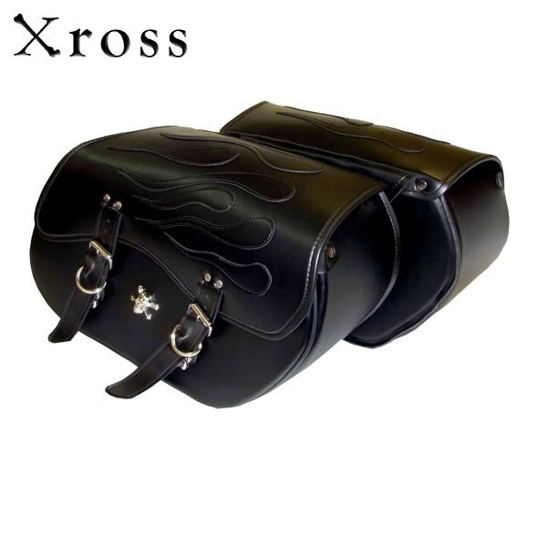 Xross(クロス) ベーシックダブル サイドバッグ BASIC DOUBLE MFH-001-S