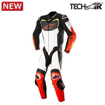 アルパインスターズ GP PRO L SUIT TECH-AIR(BLACK WHITE RD F YL F) GP プロ レザー スーツ