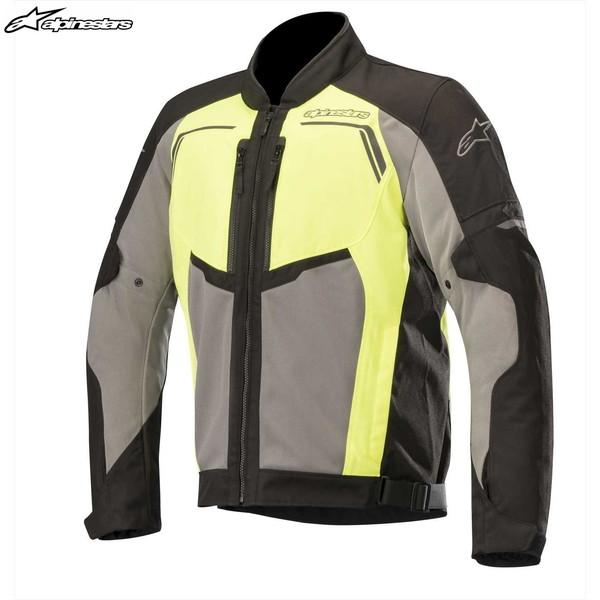 アルパインスターズ DURANGO AIR JACKET メッシュジャケット(BLACK DARK GRAY YELLOW) 3305318