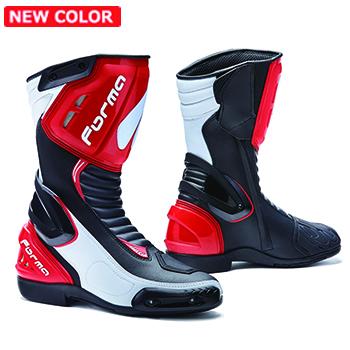 FORMA(フォーマ) FRECCIA 2018 フレッチャ レーシングブーツ(BLACK/WHITE/RED)