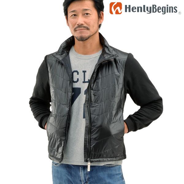 Henly Begins(ヘンリービギンズ) テラヒート 電熱ブルゾン(ブラック) HBH-005