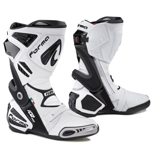 Forma ON ICE PRO FLOW レーシングブーツ (ホワイト)