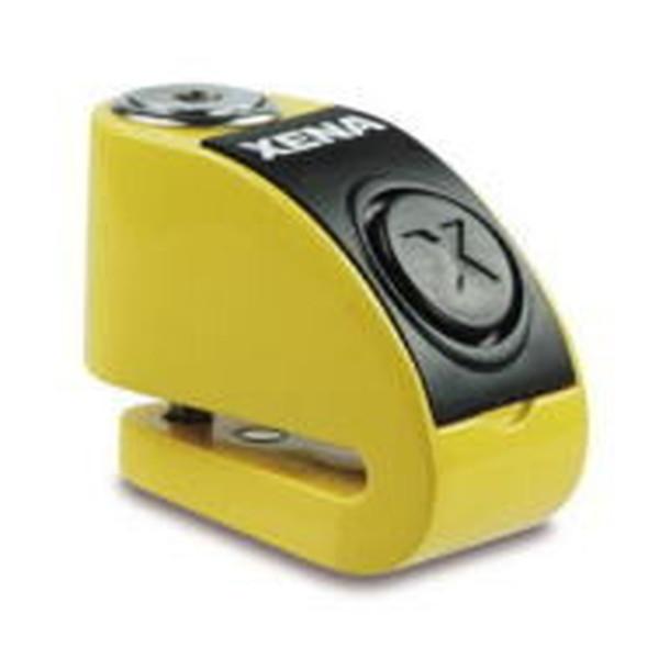 XENA XZZ6L-Y BLE ディスクアラーム(イエロー) Bluetooth対応 アラーム付きディスクロック 876846004591 Q5K-AAA-001-257
