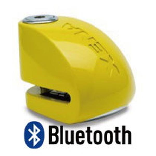 XENA XX6-Y BLE ディスクアラーム(イエロー) Bluetooth対応 アラーム付きディスクロック 876846004409 Q5K-AAA-001-263