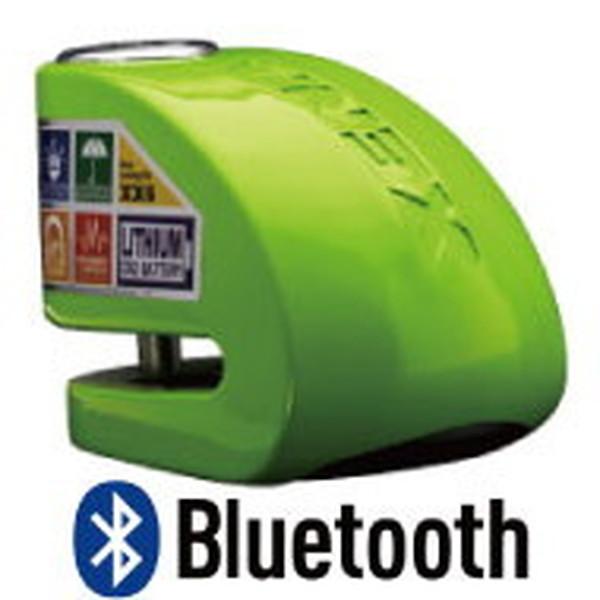 XENA XX6-KG BLE ディスクアラーム(グリーン) Bluetooth対応 アラーム付きディスクロック 876846004447 Q5K-AAA-001-267