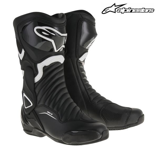alpinestars SMX-6 レーシングブーツ 2223017 (BLACK/WHITE)